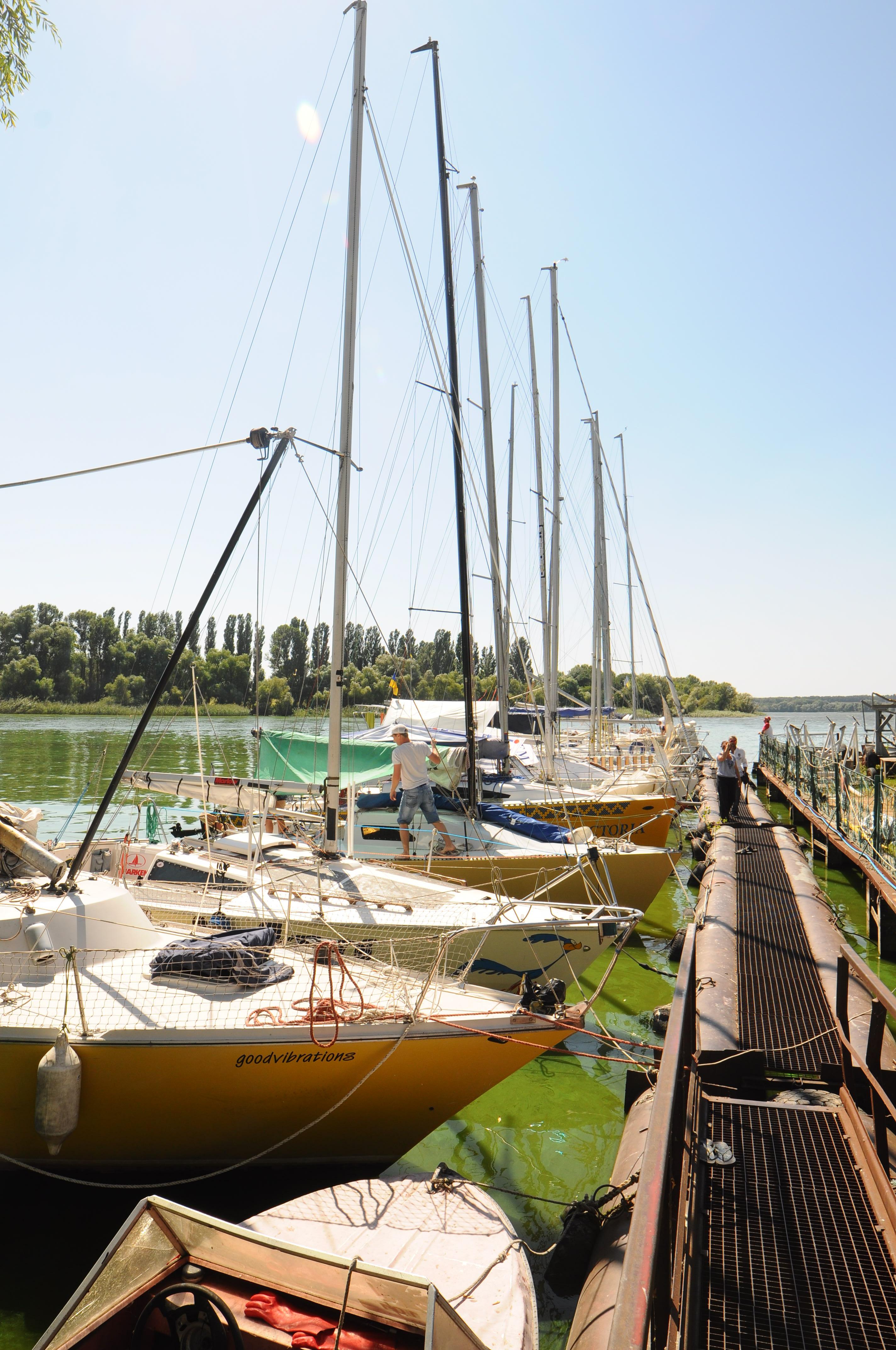 Чемпионат украины среди крейсерско гоночных яхт г.Светловодск
